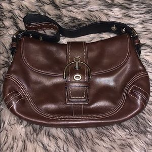 Brown, Leather Purse